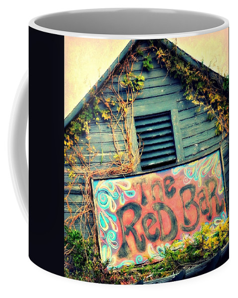 Bars Coffee Mug featuring the photograph The Red Bar by Toni Abdnour