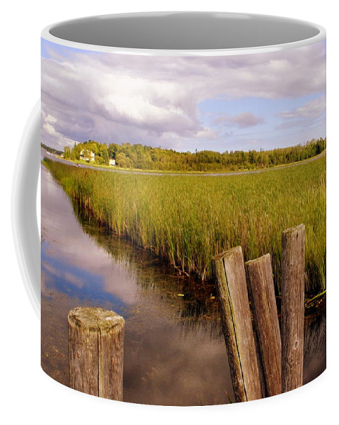 Great Lakes Coffee Mug featuring the photograph The Reflection 2 by Marysue Ryan