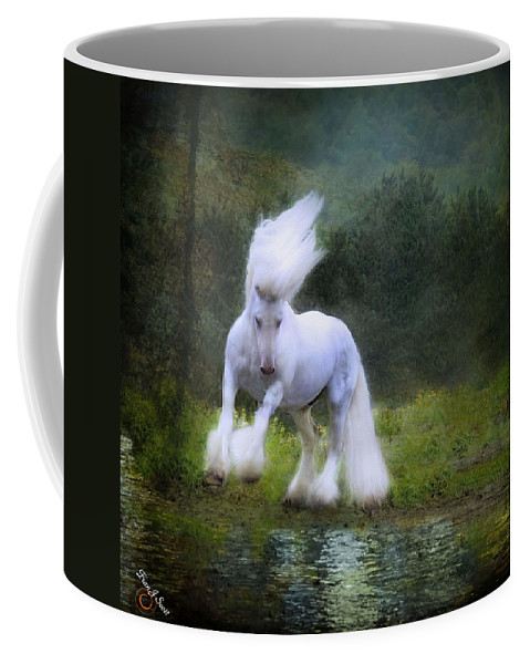 Water Coffee Mug featuring the photograph The Reflection by Fran J Scott