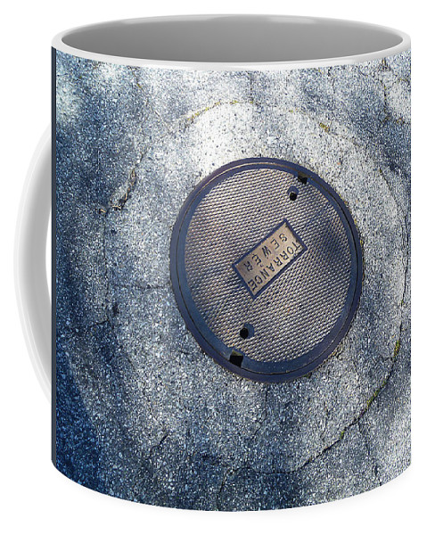Abstract Coffee Mug featuring the photograph The Ripples by Fei A