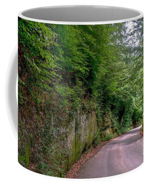 Michelle Meenawong Coffee Mug featuring the photograph The Road To Nowhere by Michelle Meenawong