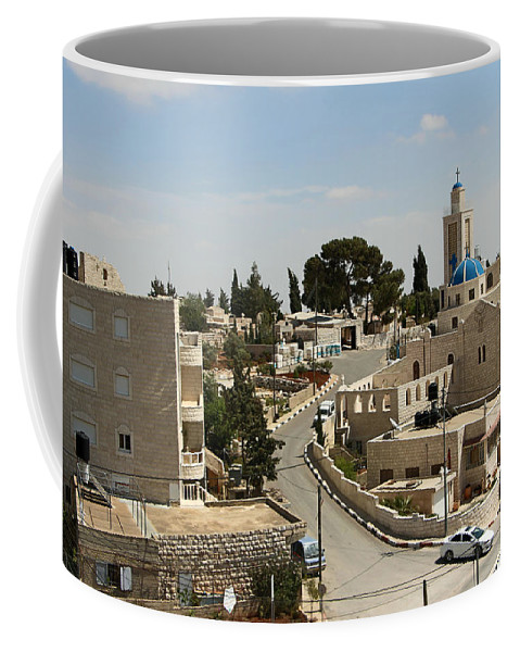 Road Coffee Mug featuring the photograph The Road To St. George Ruins by Munir Alawi