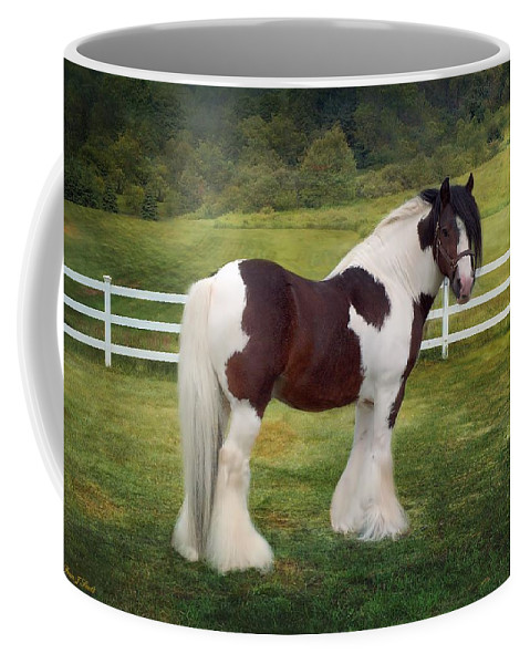 Gypsy Coffee Mug featuring the photograph The Rock by Fran J Scott