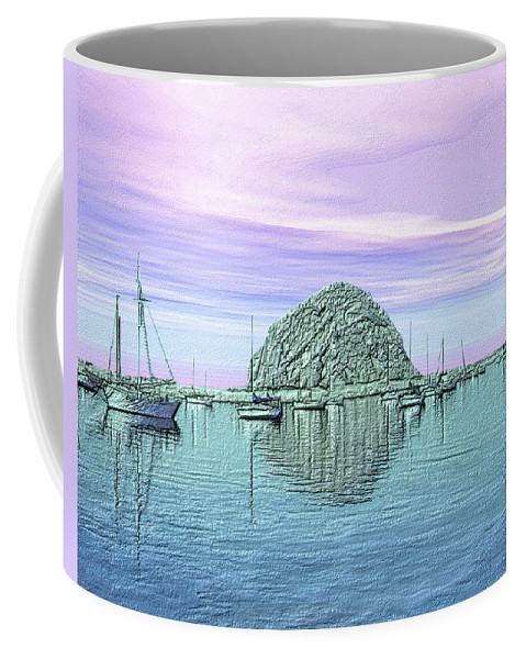 Seascape Coffee Mug featuring the photograph The Rock by Kurt Van Wagner