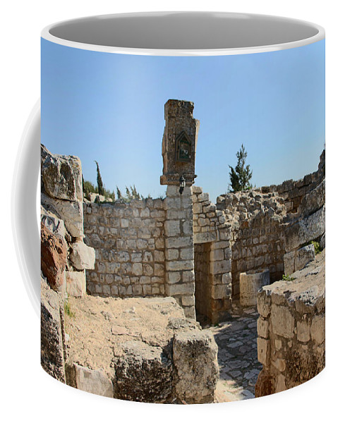 Ruins Coffee Mug featuring the photograph The Ruins by Munir Alawi
