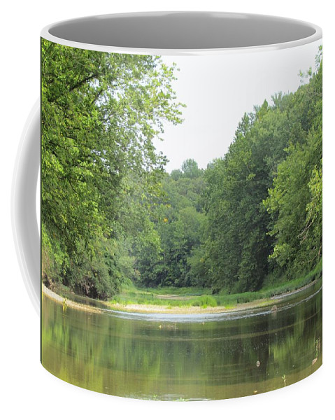 The Salt Fork River Coffee Mug featuring the photograph The Salt Fork River by Eric Noa