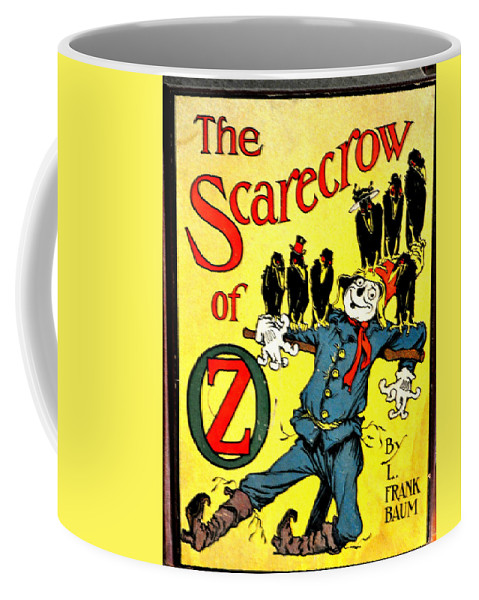 Scarecrow Coffee Mug featuring the photograph The Scarecrow Of Oz by Jay Milo