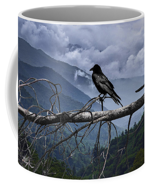 Art Coffee Mug featuring the photograph The Sentinel by Randall Nyhof