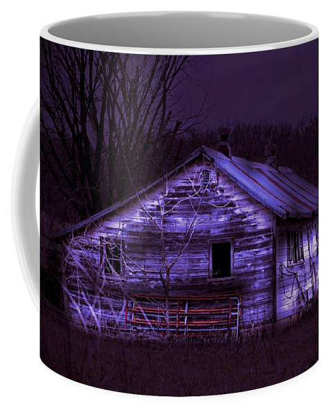 Shed Coffee Mug featuring the photograph The Shed by Bonfire Photography