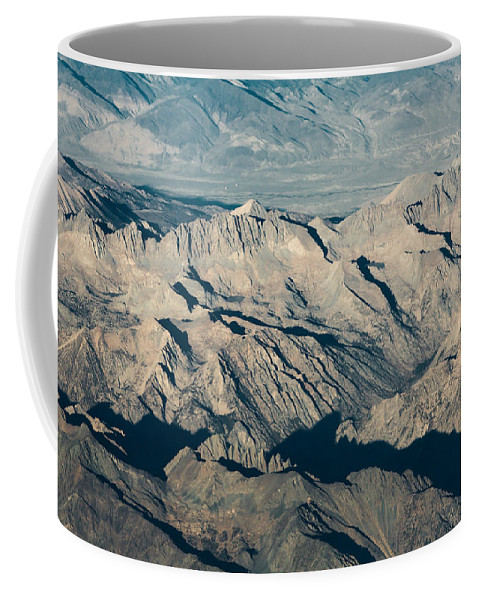 Sierra Coffee Mug featuring the photograph The Sierra Nevadas by John Daly