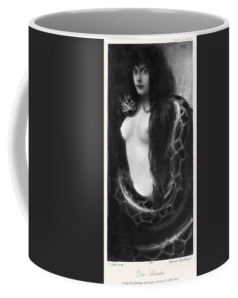 1893 Coffee Mug featuring the painting The Sin, 1893 by Granger