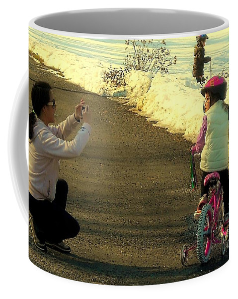 Photo Coffee Mug featuring the photograph The Snapshot by Tami Quigley