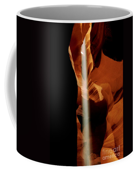Antelope Canyon Coffee Mug featuring the photograph The Source by Kathy McClure