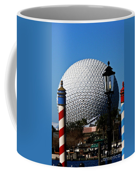 Disney Coffee Mug featuring the photograph The Sphere by Kevin Fortier
