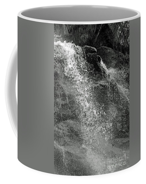 Amicalola Coffee Mug featuring the photograph The Splash by Jost Houk