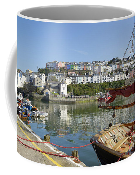 The Coffee Mug featuring the photograph The Stern by Doug Wilton