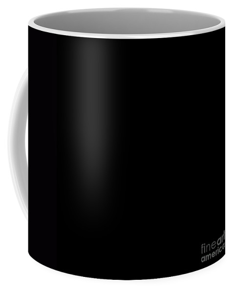 Andee Design Abstract Coffee Mug featuring the digital art The Stroke Of Midnight by Andee Design