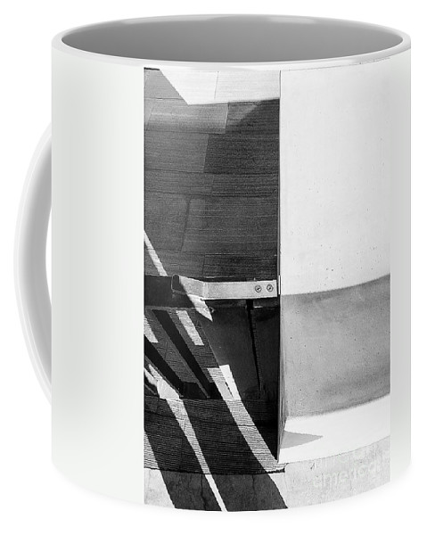 Architecture Coffee Mug featuring the photograph The Structure by Fei A