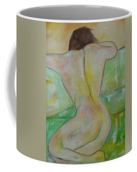 Student Coffee Mug featuring the painting The Student by Lord Frederick Lyle Morris