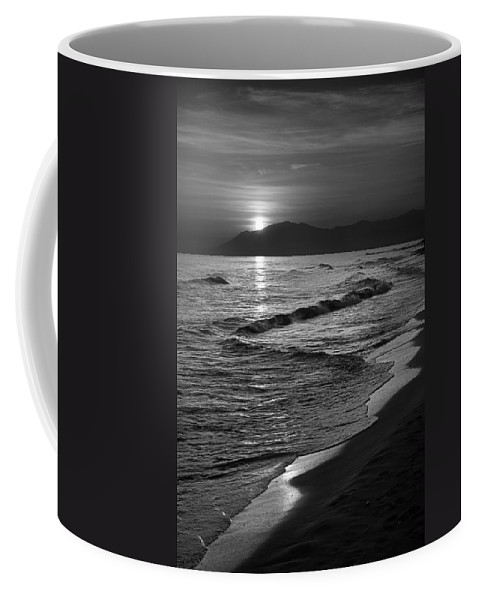 Seascape Coffee Mug featuring the photograph The Sun by Guido Montanes Castillo