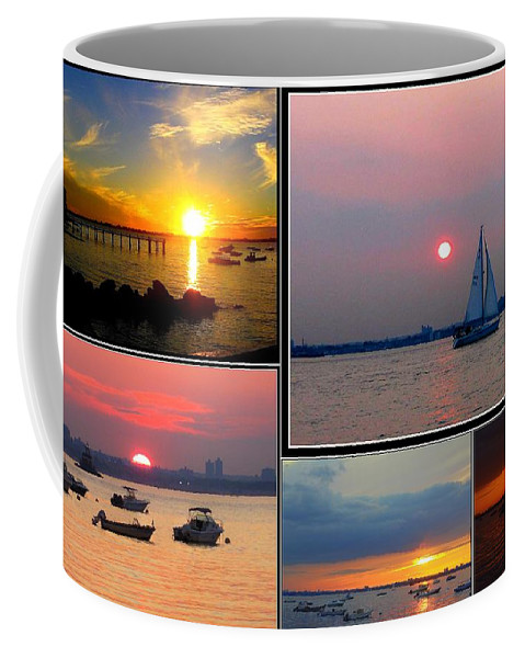 Sunsets Coffee Mug featuring the photograph The Sunsets Of Long Island by Dora Sofia Caputo Photographic Design and Fine Art