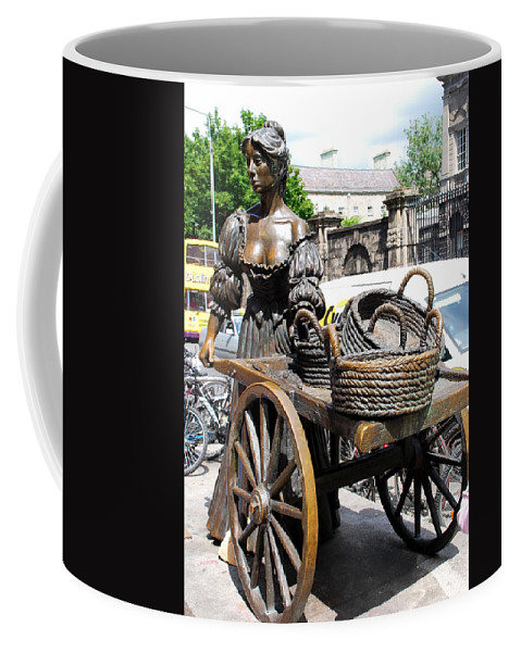 Dublin Coffee Mug featuring the photograph The Tart With The Cart by Charlie and Norma Brock