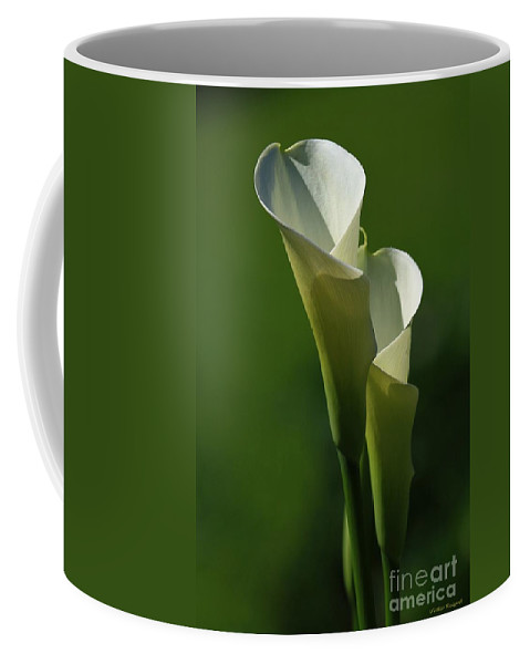 Flower Coffee Mug featuring the photograph The Twins by Winston Rockwell