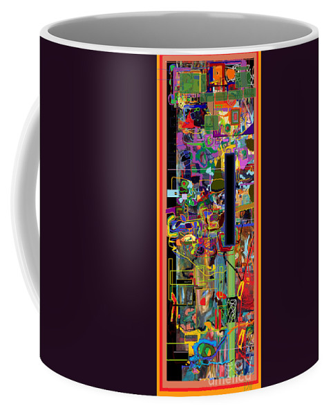 Torah Coffee Mug featuring the photograph The Tzaddik Lives On Emunah 5 by David Baruch Wolk