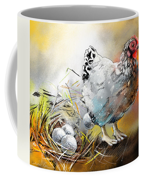 Sports Coffee Mug featuring the painting The Ultimate Golfer Gift by Miki De Goodaboom