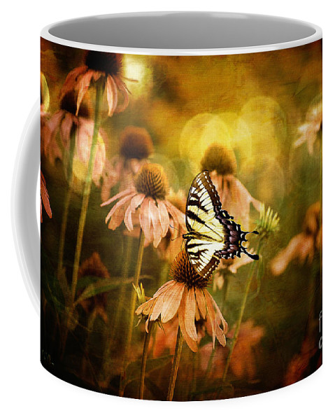Floral Coffee Mug featuring the photograph The Very Young At Heart by Lois Bryan