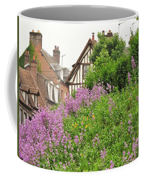 Quaint Coffee Mug featuring the photograph The Village by Mary Ellen Mueller Legault