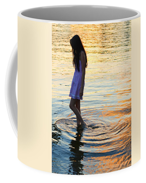 Moody Coffee Mug featuring the photograph The Wanderer by Laura Fasulo