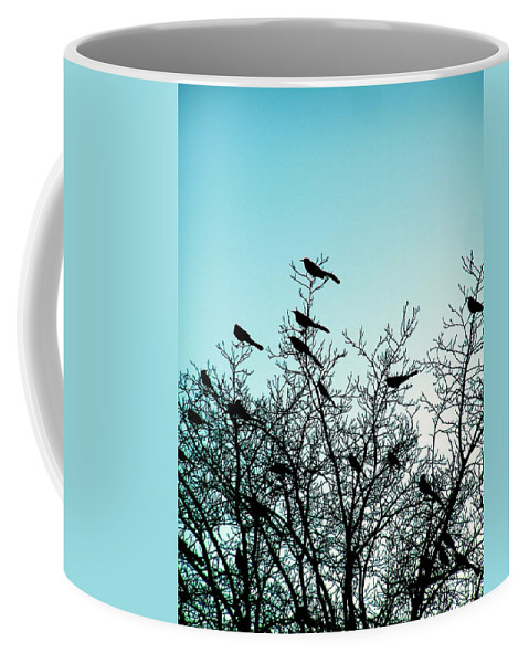 Sunset Coffee Mug featuring the photograph The Watch Tower by M Pace