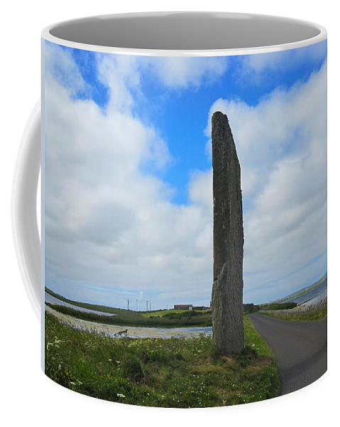 The Watch Stone Coffee Mug featuring the photograph The Watchstone by Denise Mazzocco