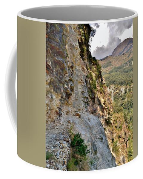 Coffee Mug featuring the photograph The Way Home by Kim Bemis