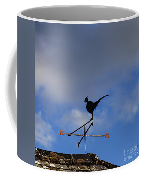 Communication Coffee Mug featuring the photograph The Way The Wind Blows by Diane Macdonald