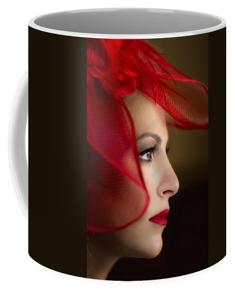 Face Coffee Mug featuring the photograph The Way You Look Tonight by Evelina Kremsdorf