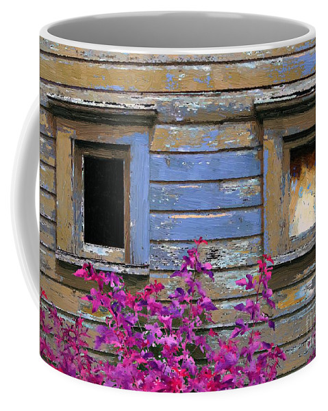 House Coffee Mug featuring the painting The Wink by RC DeWinter