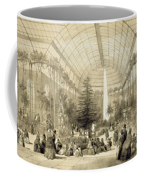 Jardin D'hiver Coffee Mug featuring the painting The Winter Garden by A Provost