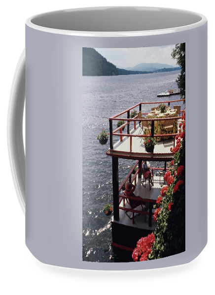 Home Coffee Mug featuring the photograph The Wyker's Deck by Ernst Beadle