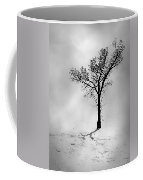 Tree Coffee Mug featuring the photograph The Young Wind by The Artist Project