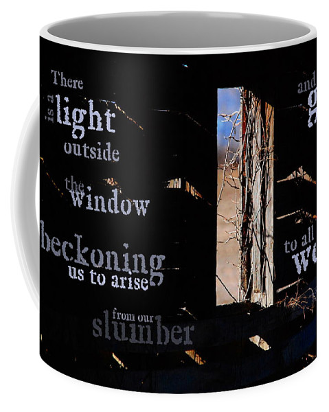 Light Coffee Mug featuring the photograph There Is A Light by Kim Blaylock