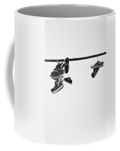 Street Photography Coffee Mug featuring the photograph These Steps Lasted by The Artist Project