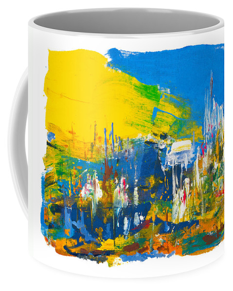 Religion Coffee Mug featuring the painting They Came Bearing Gifts by Bjorn Sjogren