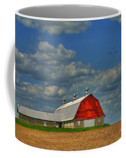 Landscape Coffee Mug featuring the photograph Things Unnoticed At The Time by Lois Bryan