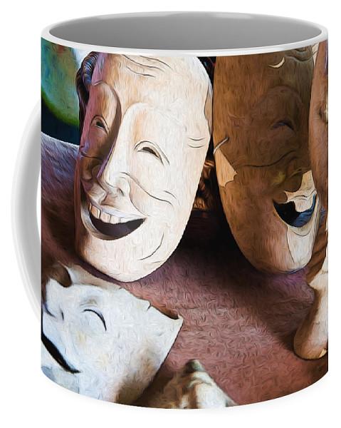 Dan Sabin Coffee Mug featuring the photograph Think That's Funny by Dan Sabin