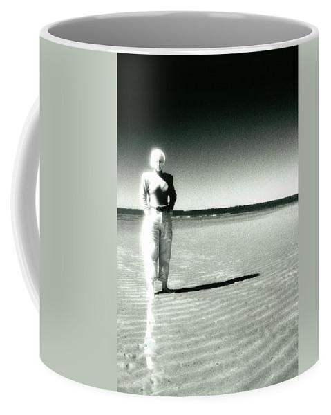 Beach Coffee Mug featuring the photograph This Empty Beach by Totally Talliesen
