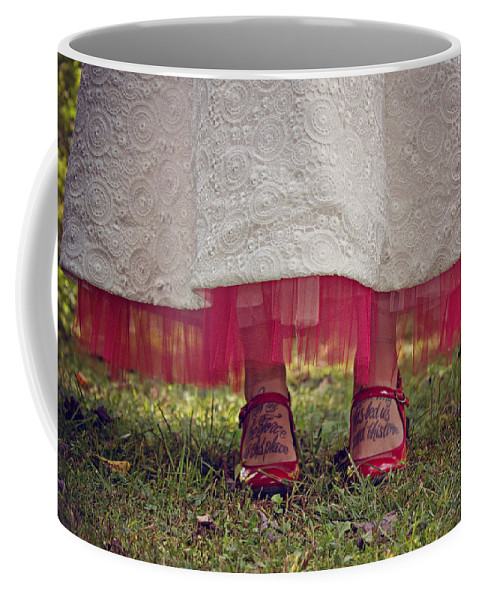 Red Coffee Mug featuring the photograph This Place This Time by Jessica Brawley
