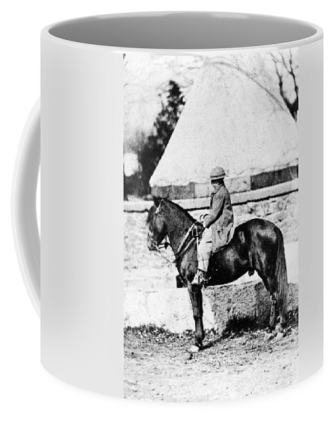 1860 Coffee Mug featuring the photograph Thomas 'tad' Lincoln (1853-1871) by Granger