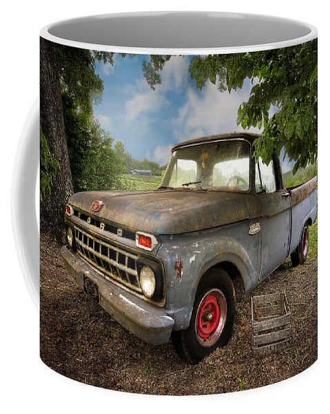 100 Coffee Mug featuring the photograph Those Were The Days by Debra and Dave Vanderlaan